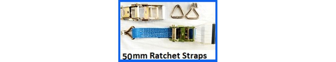 50mm Ratchet Straps