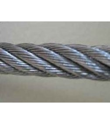 6.5mm 7x19 Stainless Steel Wire Rope (1m Length)