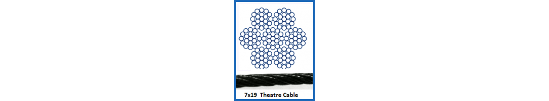 7 x 19 Theatre Cable