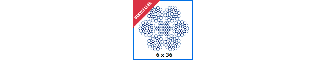 6x36 Stainless steel Wire Rope
