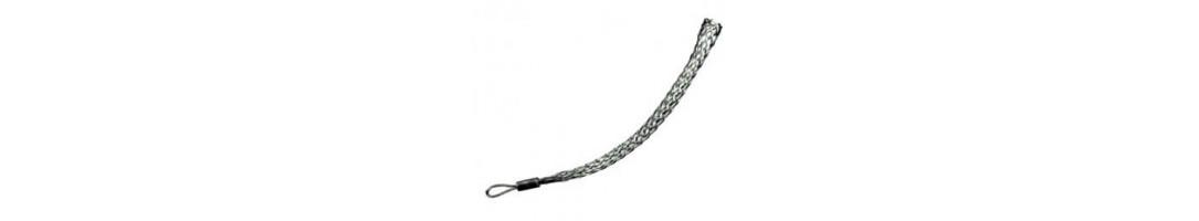 Single Eye Cable Sock
