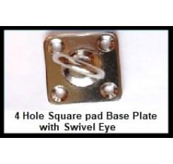Four Hole Swivel Eye Plate