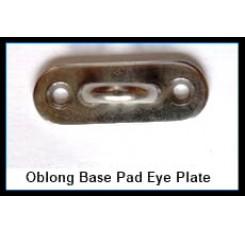 Oblong Base Pad Eye Plates