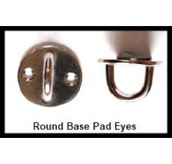 Round Base Pad Eyes