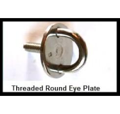 Threaded Round Eye Plate