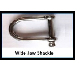Wide Jaw Shackle