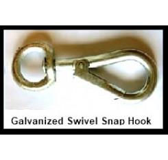 Swivel Hook – Galvanized