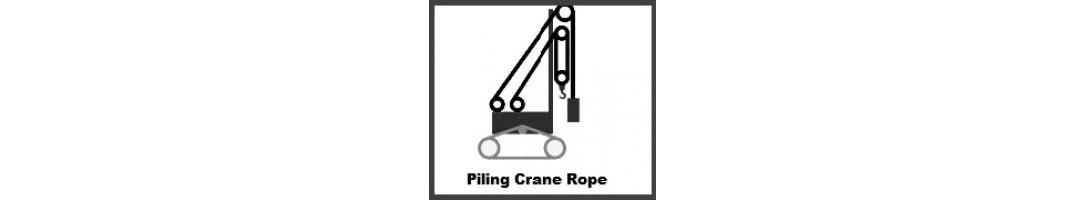 Piling Crane Rope