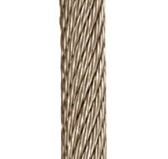 6mm 18x7 Stainless Steel Wire Rope (1m Length)