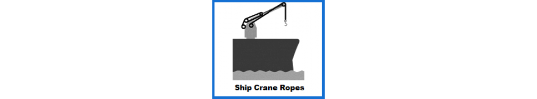 Ship Crane Rope