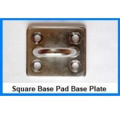 Square Base Pad Eye Plates