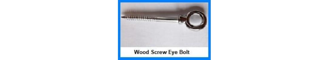 Wood Screw Eye bolt