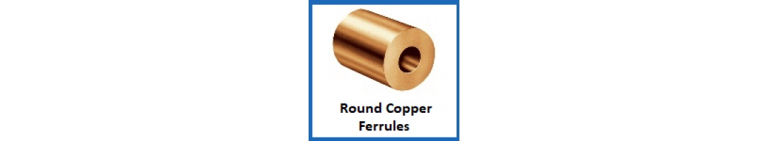 Round Copper Ferrules