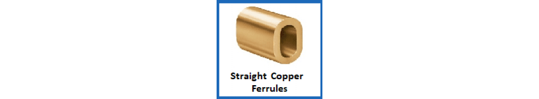 Straight Copper Ferrules