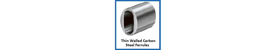 Thin Walled Carbon Steel Ferrules