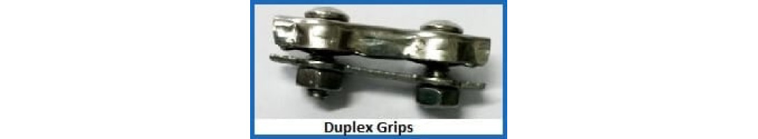 Stainless Steel Duplex Rope Grips