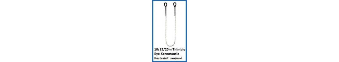 Restraint Kernmantle Rope Lanyard – Thimble Eyes