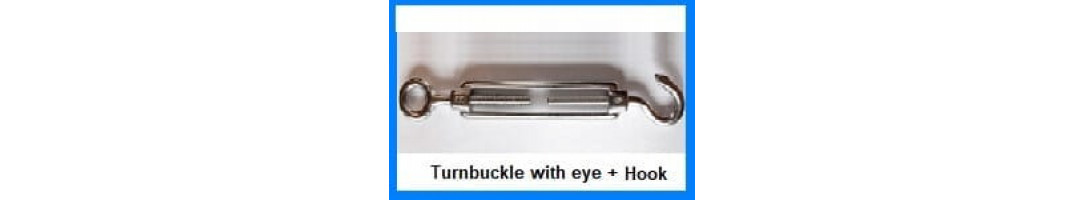 Turn Buckle Eye + Hook