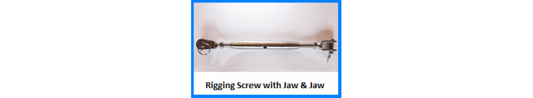 Rigging Screw Jaw & Jaw