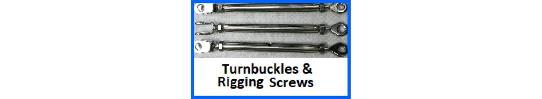 Rigging Screws & Turn Buckles