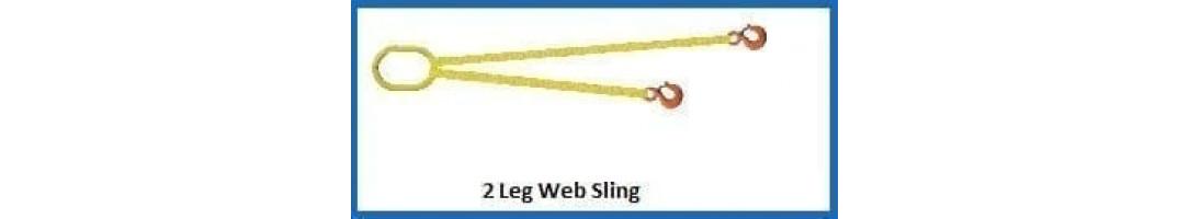 2 Leg Web Sling