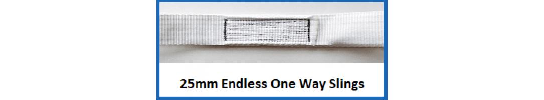 25 mm Endless One Way Slings