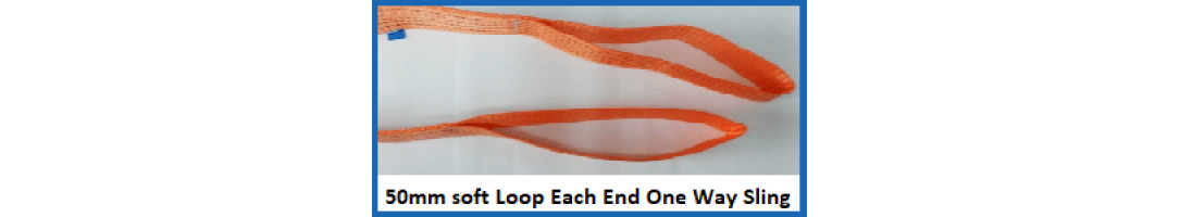 50 mm Soft Loop Each End One Way Slings