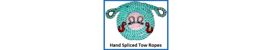 Hand Spliced Tow Ropes