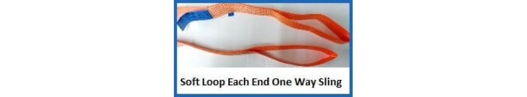 Soft Loop Each End One Way Sling