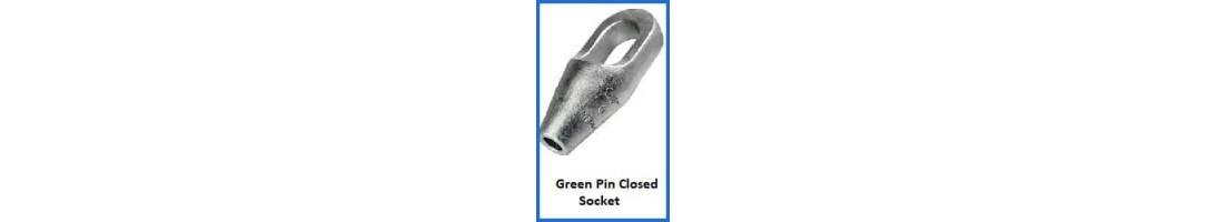Green Pin Closed Socket