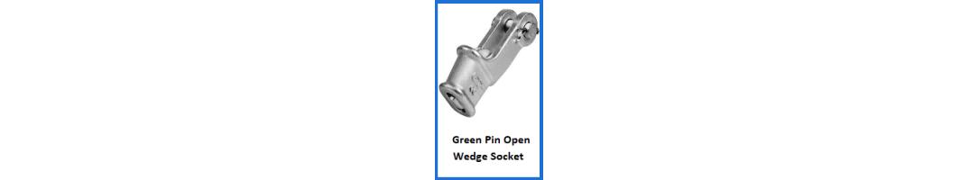 Green Pin Open Wedge Socket