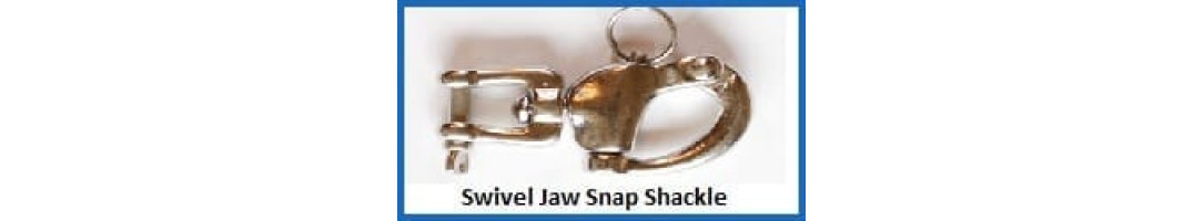 Swivel Jaw Snap Shackle