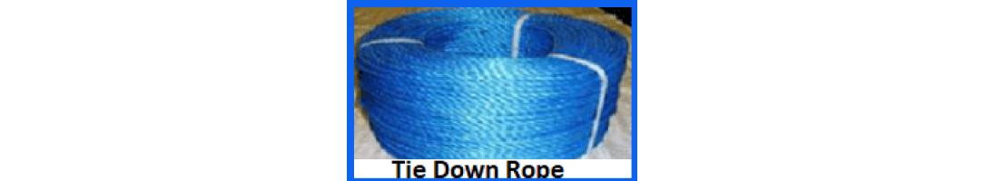 Blue Split Film Rope