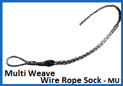 multi weave cable sock