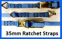 35mm ratchet straps