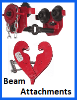 beam attachments lifting gear