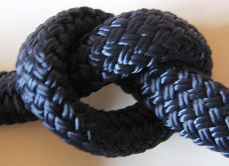 braid on braid nylon rope