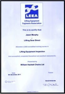 About Rope Services Direct inspection certificates 2