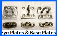 eye plates and base plates