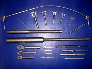 swaged terminals