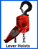 lever hoists lifting gear