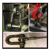 shackles in use
