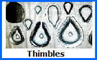 thimbles - wire rope fittings