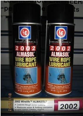 Wire rope lubricant - wire rope accessories