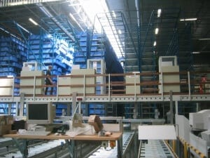 Moving items around a warehouse