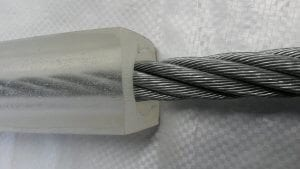protective sleeving for wire rope