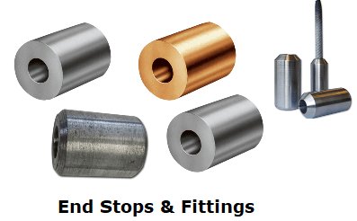 cable wire rope ferrules buy ferrules online rsd uk Cable End Stop where we use a wide range of dies in die holders to suit most shapes and sizes of ferrule this ensure we get the best fitting ferrule possible with no