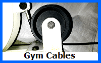 gym cables wire rope assemblies
