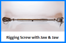 rigging screw jaw jaw
