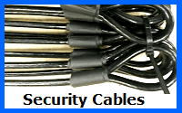 security cables wire rope assemblies